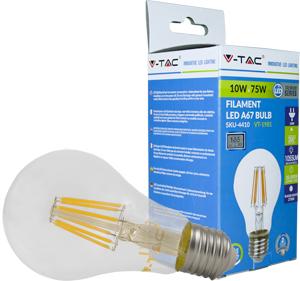 LED Bulblight E27 10W Naturw.,1055lm, 300°, Retro Design
