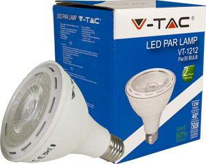 LED Bulblight E27 12W Naturw.,SKU 4267, 750lm, 40°, 95x114mm