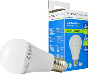 LED Bulblight E27 14W Kaltweiß,SMD Chip, 1320lm, 200°