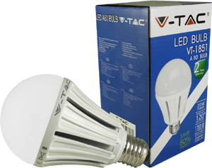 LED Bulblight E27 20W Kaltweiß,1700lm, 120°, 80x136mm