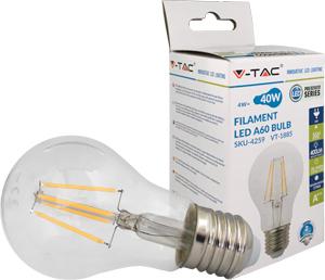 LED Bulblight E27  4W Warmweiß,SKU 4259, 450lm, 300°, Retro