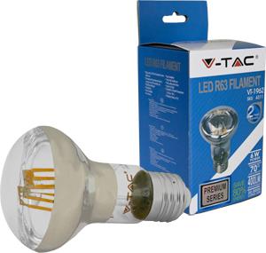 LED Bulblight E27  6W Warmweiß,SKU 4311, 400lm, 70°, Retro