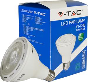 LED Bulblight E27  8W Naturw.,SKU 4264, 450lm,40°,63,5x83mm