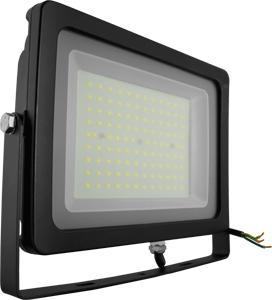 LED Fluter100W Naturw. IP65,SKU 5850, 8500lm, Schwarz