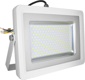 LED Fluter100W Naturw. IP65,8000lm Leuchtkraft, Weiß