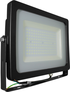 LED Fluter150W Warmweiß IP65,SKU 5861, 12750lm, Schwarz