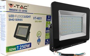 LED Fluter 50W Warmweiß IP65,SKU 5884, 4250lm, Schwarz