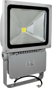 LED Fluter 70W Warmweiß IP65,5600lm Leuchtkraft, Grau