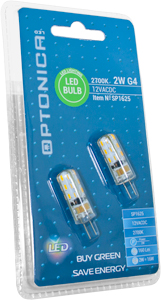 LED Spotlight G4 2W Warmweiß,SKU 1625, 12V, 150lm, Retrofit