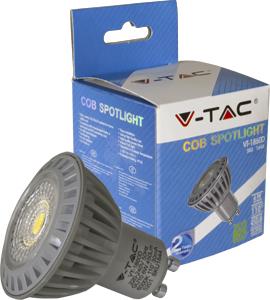 LED Spot GU10 6W Kaltweiß,SKU 1644, 450lm, 110°, 50x55mm