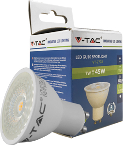 LED Spot GU10 7W Warmweiß,500lm, 3000K, 110°,50x57mm