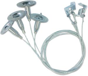 Aufhängung für Rahmen,SKU 6018,für 300, 600, 1200mm