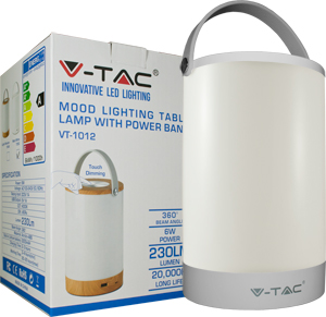 LED Tischlampe 6W USB,SKU 7050, 230lm, Dimmbar
