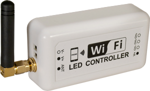 WIFI LED Controller,SKU 3321, 12V, 12A
