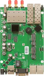 WLAN ROUTERBOARD 3x3 MIMO,720Mhz,3xRSMA,2xPCIe,2xSFP