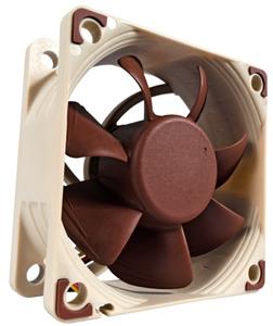 Lüfter 12VDC  60x60x25mm,8,2 bis max. 19,38dBA, 3000RPM