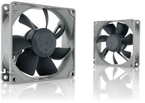 Lüfter 12VDC  80x80x25mm,7 bis max. 17dBA, 1800RPM