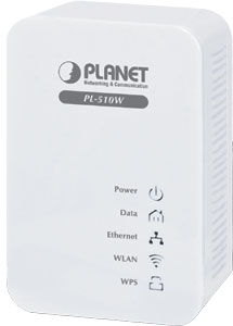Powerline Wireless N Extender,300Mbps WLAN,200Mbps Powerline
