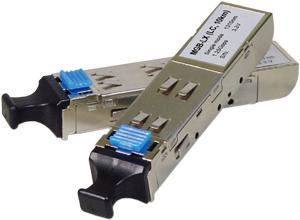 SFP Modul für Switche 1000LX,LC, Singlemode, 1310nm, 10KM