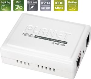PoE Energieversorger 802.3af,10/100/1000 Mbps, max.48V 0,4A