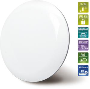 Planet WNAP-C3220A 300Mbps 802.11n Ceiling-mount Wireless Access Point WAPC