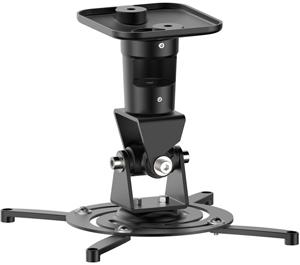Projektor Halterung, bis 15kg,bis 310mm, +/-25°, Schwarz