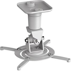 Projektor Halterung, bis 15kg,bis 310mm, +/-25°, Weiss